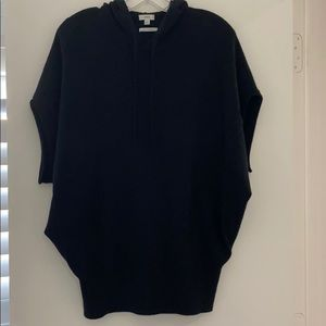 Vince | 100% Cashmere Short Sleeve Pullover Hoodie